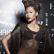 Maquillage et coiffure artistique pour Beauté Selection